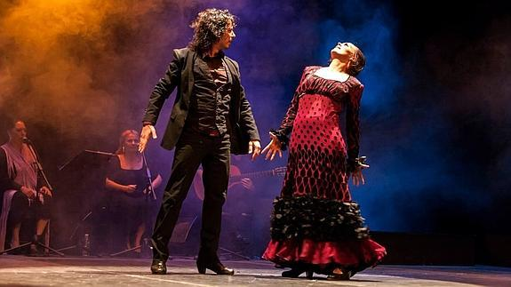 flamenco show in Malaga at Cervantes theatre