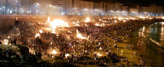 san juan bonfires