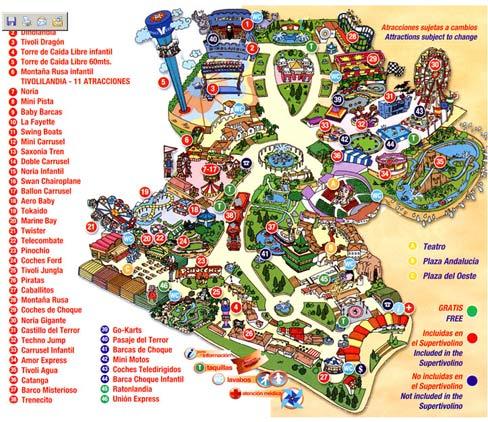 Tivoli World in Benalmadena Rides prices and services