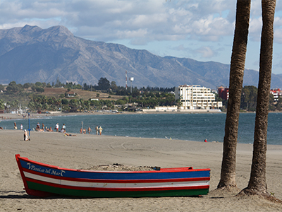 Estepona Beach - Photo by Magnus A.