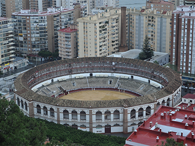 La Malagueta Bullring - Photo by stevekeiretsu