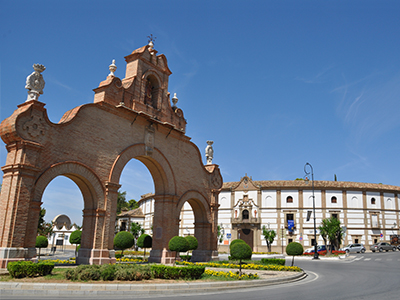 The bullring in Antequera was rebuilt in 1983. - Photo by imarigorta