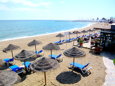 Marbella Beach - Photo by cwgoodroe