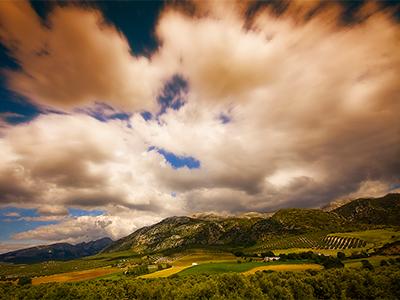 vista desde los Montes de Málaga