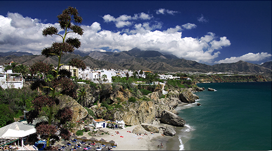 Nerja Beach - Photo by Maximo Lopez