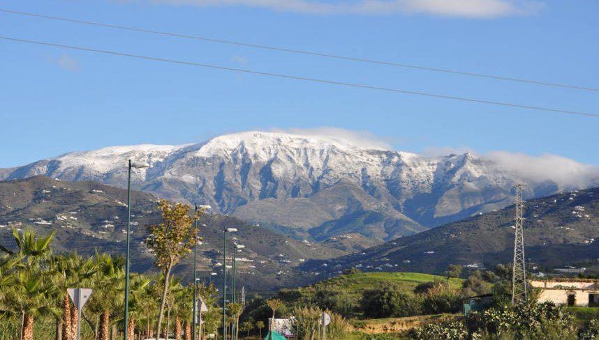 Snow in Malaga, Nov. 2012
