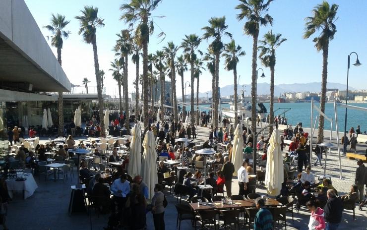Malaga Port Pier One