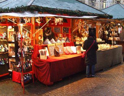 Christmas market in Benalmadena