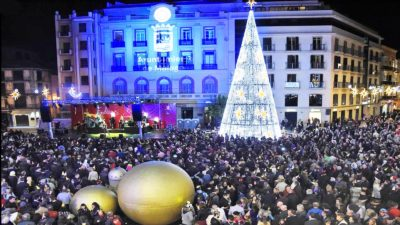 New Year's Eve celebration in Malaga
